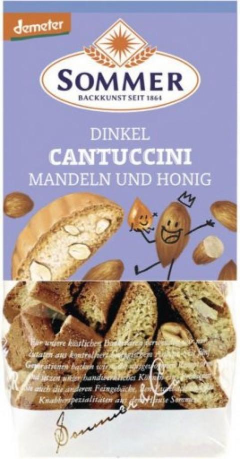 Sommer Dinkel-Cantuccini mit Mandeln