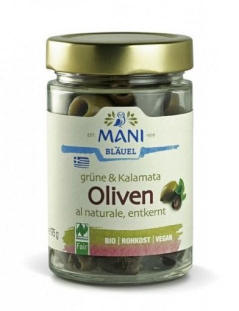 Mani Bläuel Oliven gemischt entsteint