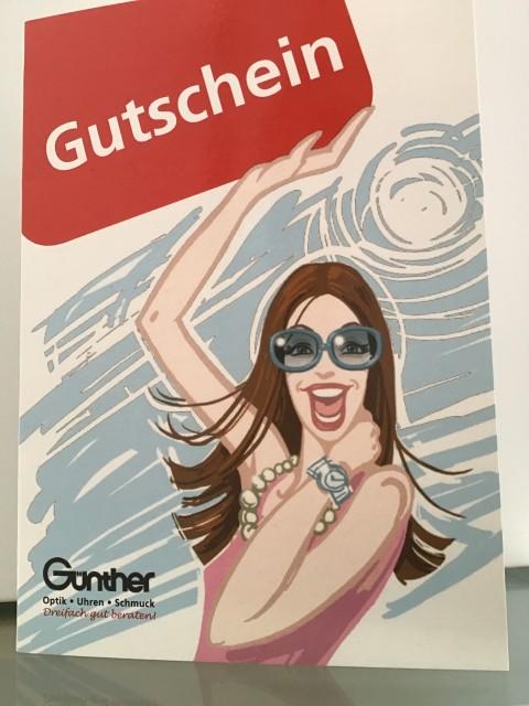 Gutschein  Günther Optik Uhren Schmuck