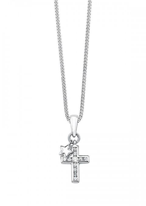 Halskette S.Oliver Kreuz und Stern
