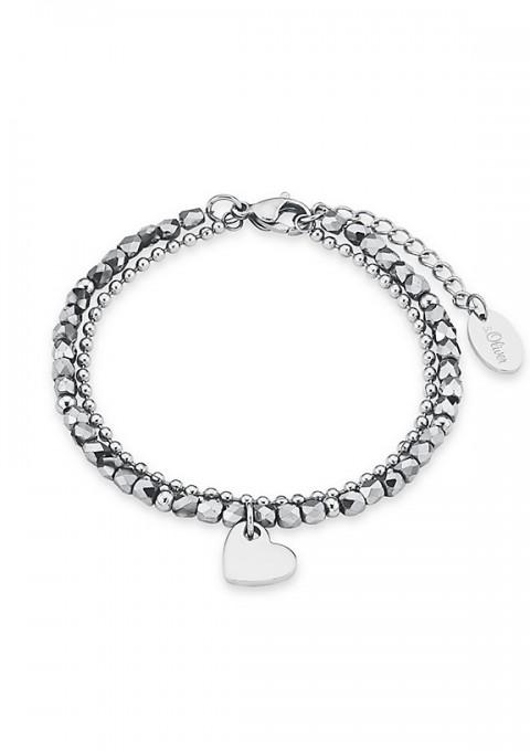 Armband S.Oliver mit Herzanhänger