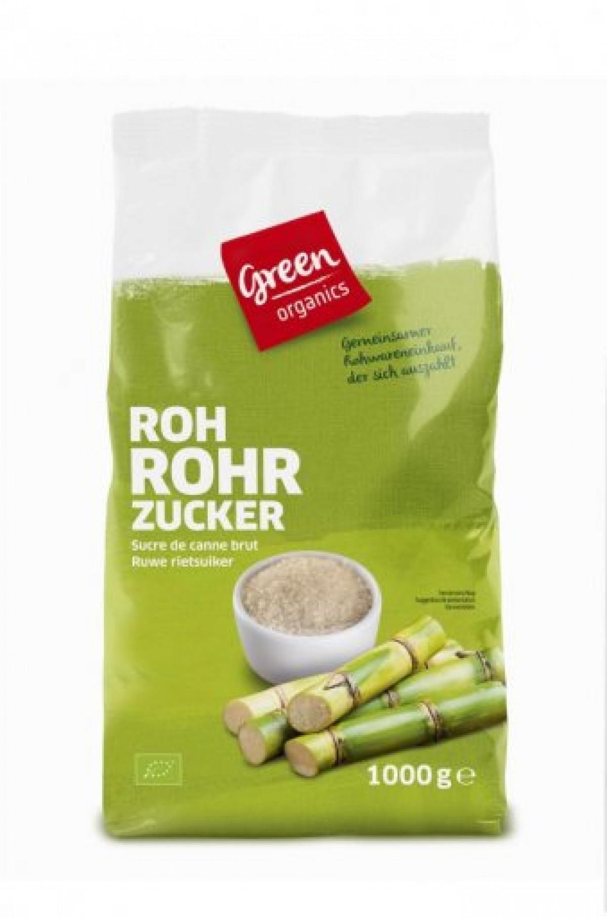 Green Organics Rohrohrzucker