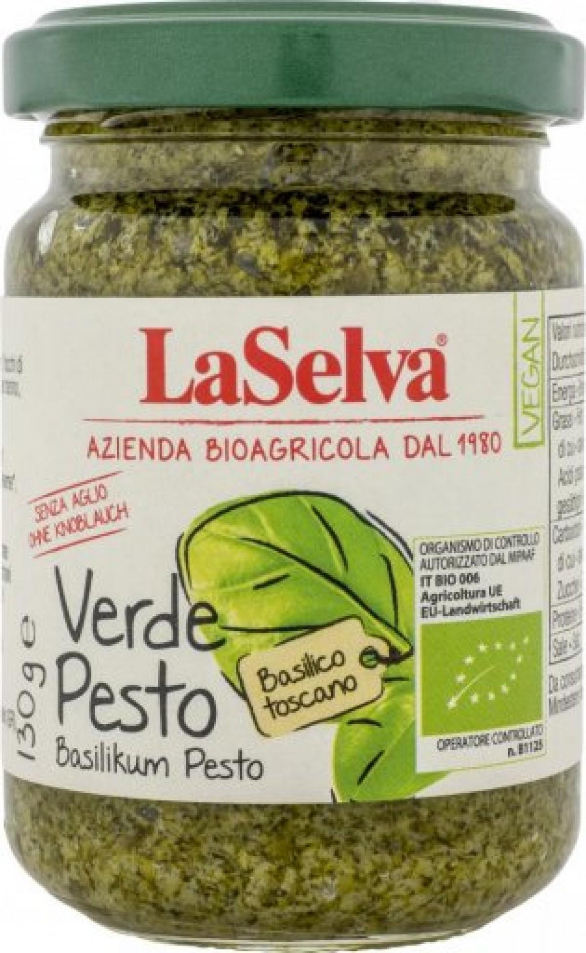 LaSelva Pesto verde - Basilikumpesto ohne Knoblauch