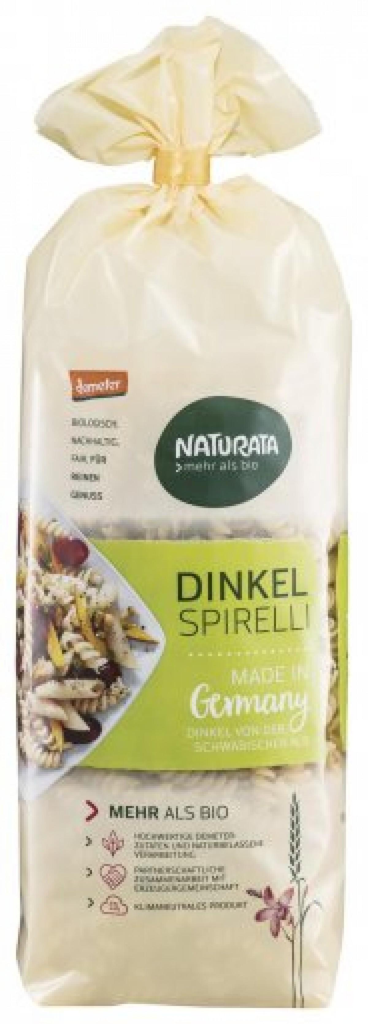 Naturata Dinkel-Spirelli hell DEMETER 500g
